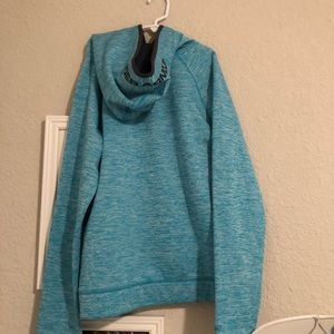 Under Armour Tops - teal under armour sweatshirt